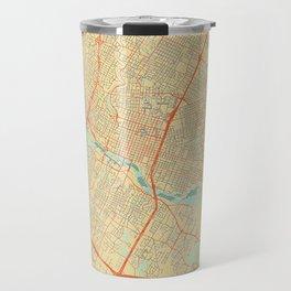 Austin Map Retro Travel Mug