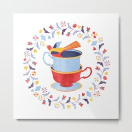 You're my cup of tea Metal Print