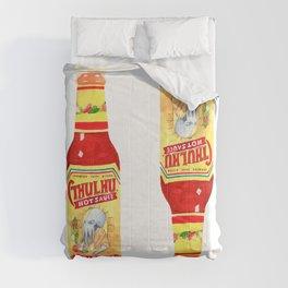 Cthulhu Hot Sauce Comforters