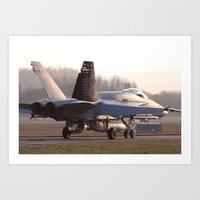 F18 NORNET  Art Print