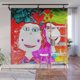 LOVE iN CHiLDHOOD Wall Mural