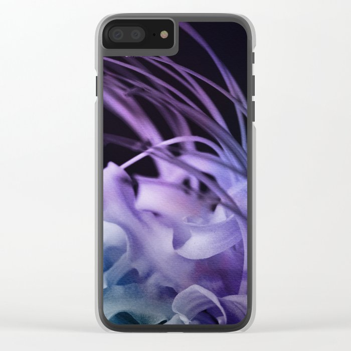 Dream Flower 9 Clear iPhone Case