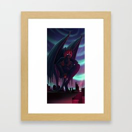 Demigod Cityscape - Vantage point Framed Art Print