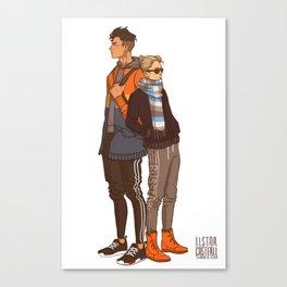 Otabek & Yurio Canvas Print