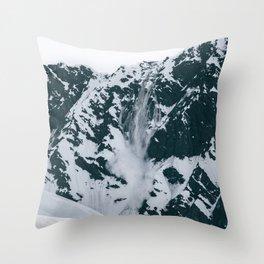 Avalanche! Throw Pillow