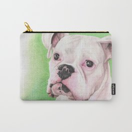 The White Boxer Carry-All Pouch