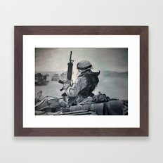 A Few Proud Marines  Framed Art Print