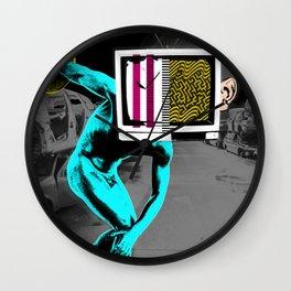 Diskus TV 4 Wall Clock