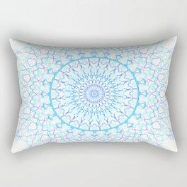 Snowflake #003 transparent Rectangular Pillow