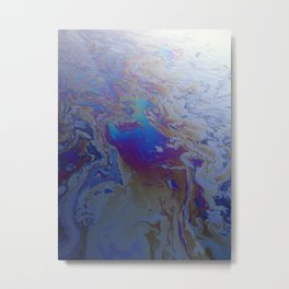 Gowanus Oil Slick Metal Print