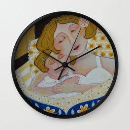 """""""Nighty Night, My Sweet Girl"""" Wall Clock"""
