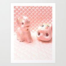 lil elephants Art Print