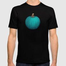 Teal Pumpkin Black Mens Fitted Tee MEDIUM