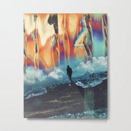 Crystalspace Metal Print