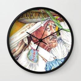 Old Man in Parade Wall Clock