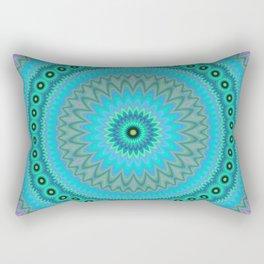 Boho flower mandala Rectangular Pillow