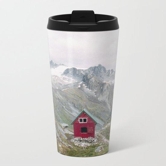Mint Hut Metal Travel Mug
