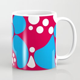 Abstract red-blue pattern Coffee Mug