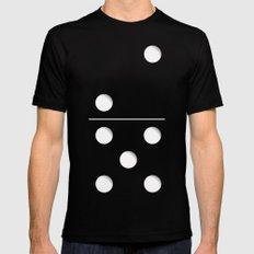 Domino MEDIUM Mens Fitted Tee Black