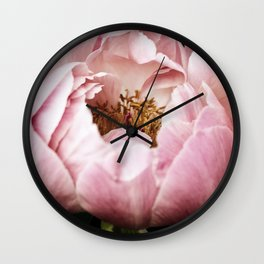 Glinda Peony Wall Clock