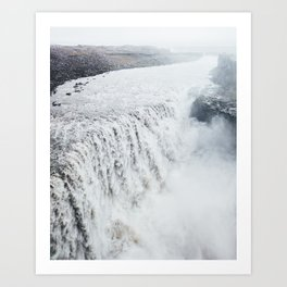 Dettifoss Iceland Art Print