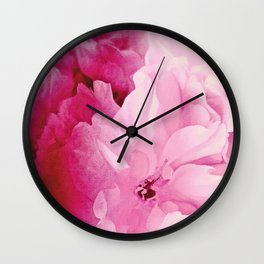 Plum Blossoms-Flowering For No One, No Reason Wall Clock