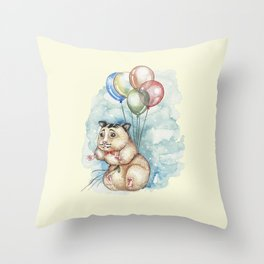It's never too late to fly Throw Pillow