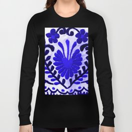 Strange Love Blue Long Sleeve T-shirt