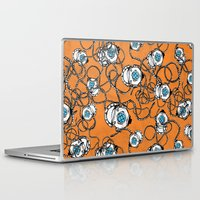 scuba Laptop & iPad Skins featuring Scuba Squad by Marc Weiss Designs
