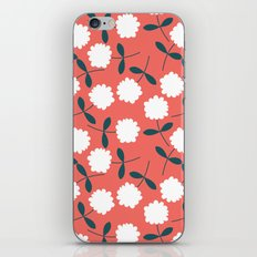 Daisy Coral iPhone & iPod Skin