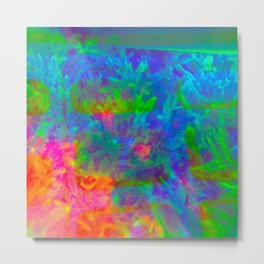 Our Psychedelic Nature Metal Print