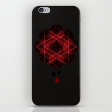 Lotus Flower Demon Version iPhone & iPod Skin