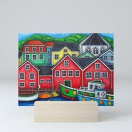 Colours of Lunenburg Mini Art Print