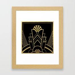Art Deco Design - Great Gatsby Framed Art Print