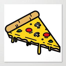 Pizza! Canvas Print