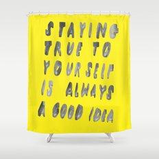 TRUE Shower Curtain