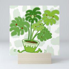 Monstera Swiss Cheese Plant Mini Art Print