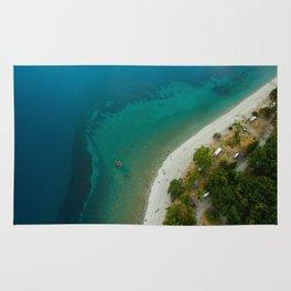 Lake Hawea lake wakatipo blue crystal clear Rug