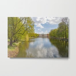Palace on the Water, Lazienki Park, Warsaw Metal Print
