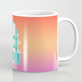 Ocean Surf, Miami 80s Coffee Mug