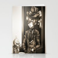 kuroshitsuji Stationery Cards featuring Ciel Phantomhive - The Queen's Watchdog by Lalasosu2