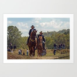 Weary Union Soldiers Art Print