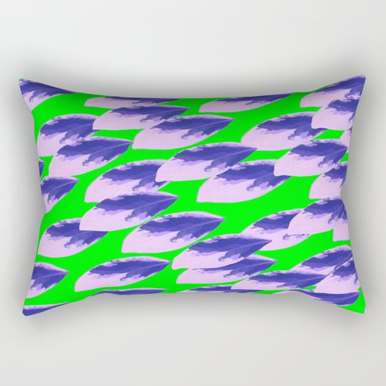 The Limeade Leaves Rectangular Pillow
