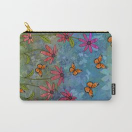 butterfly garden Carry-All Pouch