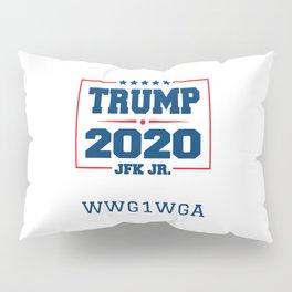 Trump 2020 JFK Jr Pillow Sham
