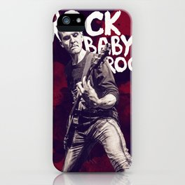 Rock Baby Rock iPhone Case