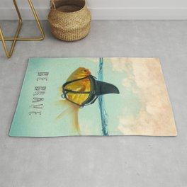 Be Brave - Brilliant Disguise Rug