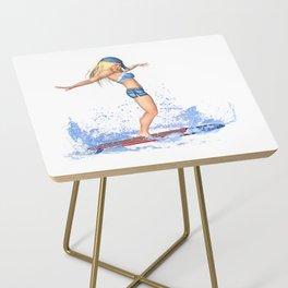 Surfer Girl Side Table