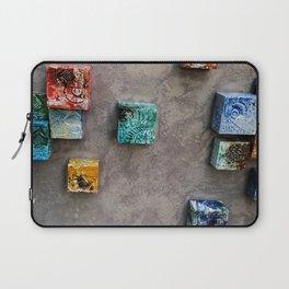 Single Ceramic  Tiles 2 Laptop Sleeve