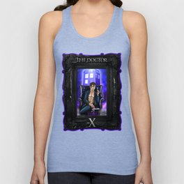Sexy Doctor Who Unisex Tank Top